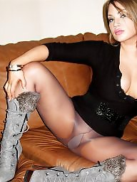 Amateur pantyhose, Amazing