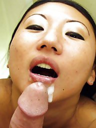 Facial, Asian babes, Asian babe
