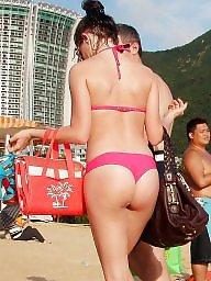 Beach, Public amateur, Nudity
