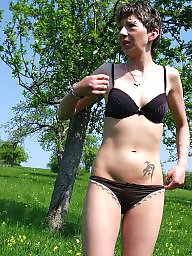 German, Outdoor, German milf, Outdoors, German amateur, Milf outdoor