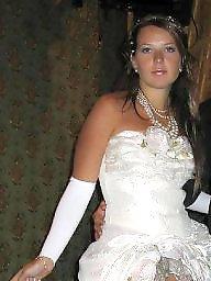 Wedding, Dressed, Slut dress, Upskirt flashing, Dresses