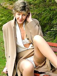 Uk mature, Mature in stockings, Mature uk