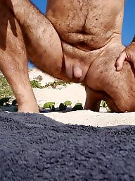 Mature beach, Hairy matures, Hairy beach, Beach mature