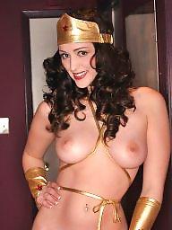 Pornstar, Woman, Wonder woman, Champagne