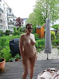 Amateur milf, Garden, Wives