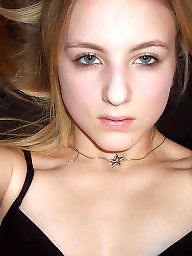 Amateur teen, Self shot