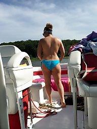 Bikini, Boat, Bikinis, Anal milf, Ass bikini