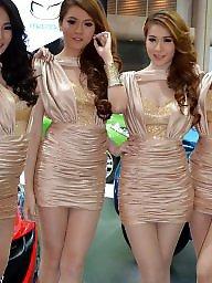 Pantyhose, Thailand, Asian pantyhose, High heels, Asian babe