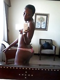 Ebony amateur, Black girl, Naughty, Black amateur