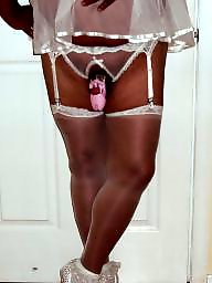 Sissy, Wedding, Stocking, Bisexual, Chastity, White