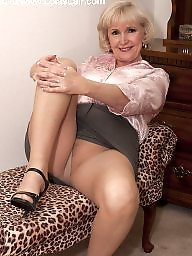 Granny, Granny stocking, Granny stockings, Granny mature, Mature stockings
