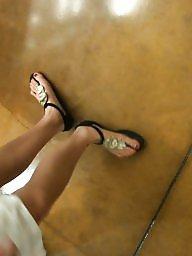 Mature feet, Feet, Voyeur mature