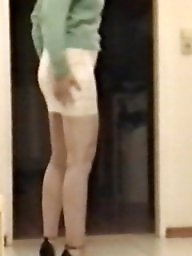 Skirt, Bitch, Tights, Lace, Slutty, Tight skirt