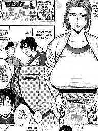 Twins, Manga, Twin, Compilation, Hentai milf