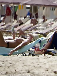 Beach, Topless, Caught