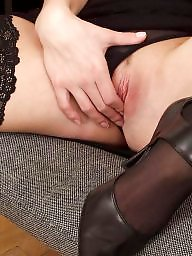 Office, Show, Upskirt stockings