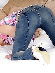 Jeans, Legs, Leggings, Mature legs, Leg, Big legs