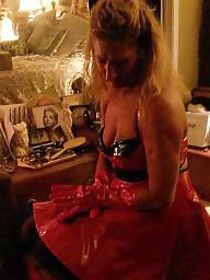 Pvc, Lipstick, Red, Dress, Vinyl, Dresses