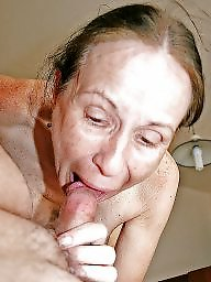 Mature, Mommy, Bitch, Cock, Dirty, Mature blowjob