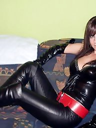 Latex, Pvc, Leather, Mature leather