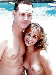 Nude, Nude beach, Couple, Couples, Voyeur beach, Beach voyeur