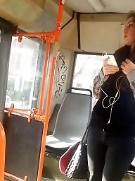 Teen, Spy, Bus, Romanian, Hidden cam, Cam