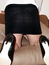 Blouse, Heels