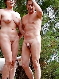 Couple, Milfs, Couples, Mature couple, Naked, Naked mature