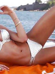 Bikini, Grey, Bikini beach