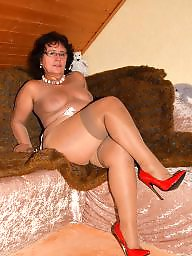 Stockings, Mature amateur, Amateur stockings
