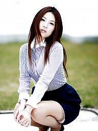 Asian upskirt, Girls, Asian stockings, Upskirt asian