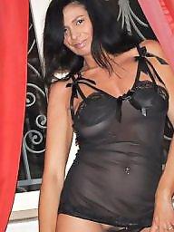 Italian, Brunette milf