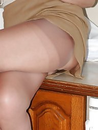 Uk mature, Amateur stockings