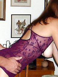 Lingerie, Milf lingerie, Candy, Purple, Lingerie milf, Amateur lingerie