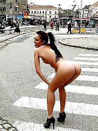Street, The public, Public flashing, Naked