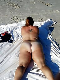 Bbw beach, Clit, Bbw ass, Big clit, Bbw milf, My wife