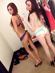 Changing room, Changing, Teen stockings, Room, Stockings teens