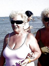 Granny beach, Big granny, Granny boobs, Beach, Busty granny, Beach granny