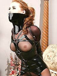 Latex, Bondage, Blonde, Blond