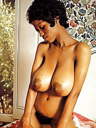 Ebony, Vintage, Black, Retro, Busty, Big black