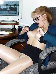 Lady, Older, Work, Play