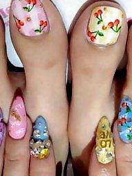 Feet, Asian babe