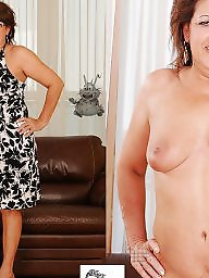 Dressed undressed, Mature dress, Undressed, Dress, Dressed undressed mature, Mature dressed