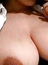 Boobs, Big nipples, Tease, Nipples, Work, Teasing