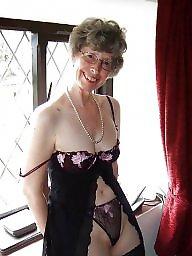 Mature lingerie, Stocking mature