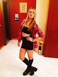 Italian, Teen stockings, Stockings teens