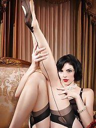 Lace, Secret, Amateur stockings
