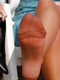 Nylons, Lady, Upskirts, Amateur nylon