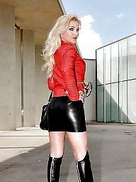 Leather, Skirt, Tight skirt, Leather skirt