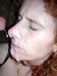 Facial, Wives, Exposed, Amateur facials, Milf facial